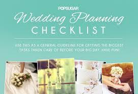 Ultimate Wedding Planner Wedding Planning Checklist Popsugar Australia Smart Living