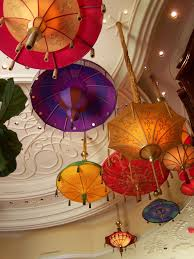 Great Fixtures Umbrella Shade Ceiling Light Fixtures Love The Great Color