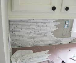 Incredible Nice Installing Marble Tile Backsplash How To Install A - Carrara marble backsplash
