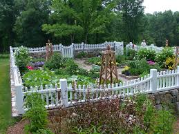 White Backyard Fence - beautiful fence toppers in landscape traditional with fences next