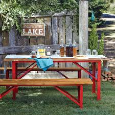 World Market Outdoor Chairs by Red Beer Garden Dining Table World Market