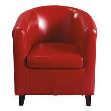 fauteuils rouges fauteuil club nantucket maisons du monde