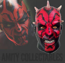 Darth Maul Halloween Costume Darth Maul Mask Ebay