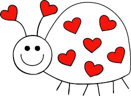 valentine u0027s day clipart love bug pencil and in color valentine u0027s