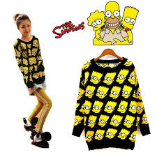 bart sweater free shipping fashion bart pullover sweater clothing
