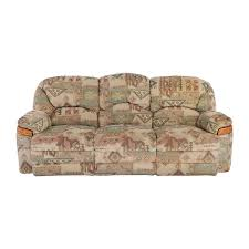 Fabric Reclining Sofa 82 Patterned Fabric Recliner Sofa Sofas