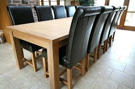 Large Dining Room Table Seats 12 Large Oak Dining Table Seats 12 Extension Dining Table Seats