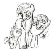 lauren faust gallery my little pony friendship is magic wiki