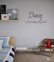 wall art dancing dance home decor vinyl stickers letters love zoom