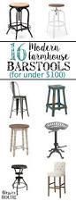 100 Modern Budget Deck Furniture by 16 Modern Farmhouse Barstools For Under 100 Bless U0027er House