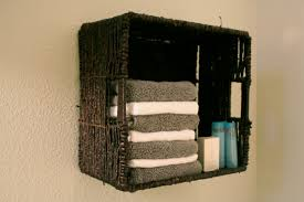 Bathroom Wall Baskets Bathroom Basket Storage Gqwft Com