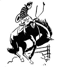 western rodeo round up clipart clipart kid clipartix