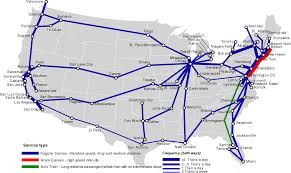 Boston Usa Map by List Of Amtrak Routes Wikipedia All Northeast Us Passenger Rail