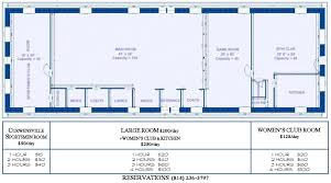 Community Center Floor Plans by Curwensville Community Center Making Memories Across Generations