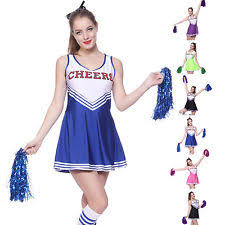 Cheerleader Halloween Costume Girls Girls U0027 Cheerleader Costumes Ebay