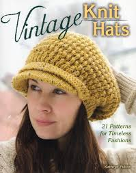 vintage knit hats 21 patterns for timeless fashions kathryn