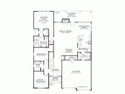 open layout floor plans eplans country house plan open layout 2457 square and
