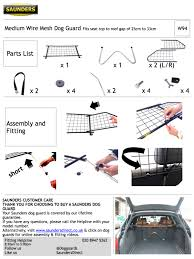 lexus uk parts w94 saunders dog guard lexus rx 300 2003 to 2009 ebay