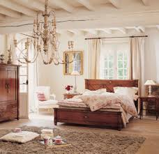 brown patterned bedroom window treatment french country bedrooms