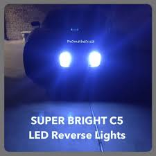 1997 2004 c5 corvette bright back up led lights