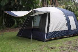 Oztent Awning Rv Awning With Matching Oztrail Tent Camping U0026 Hiking Gumtree