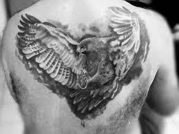 eagle tattoo clipart black and white eagle tattoo best image konpax 2017