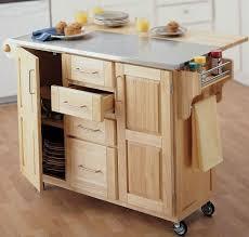 kitchen island cart maple