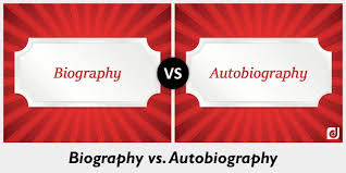 biography an autobiography difference difference between biography and autobiography