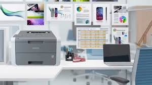 brother hl 3140cw colour laser printer with wifi at huntoffice ie