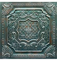 Talissa Decor Lot Of 50 Tiles Td04 Faux Tin Patina Copper Talissa Decor