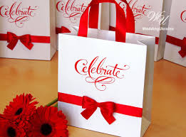 celebrate it 360 ribbon gift bag with satin ribbon and bow any color of ribbon
