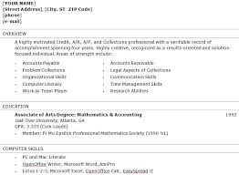 accounts officer resume sample accounts receivable resume examples accountant resume example