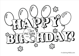 Happy Birthday Coloring Pages For Grandpa Page Best Coloring Happy Coloring Pages
