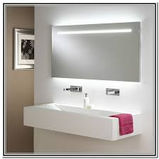 bathroom mirrors with lights attached mirror with light north star