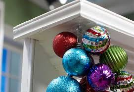 how to make an ornament garland at the home depot