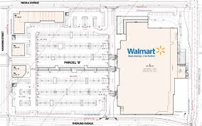 28 walmart floor plans supercenter floorplan big box stores