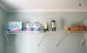 diy laundry room storage ideas pipe shelving