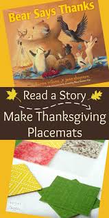 Thanksgiving Story For Preschool Read A Story Make Place Mats For Thanksgiving Thanksgiving