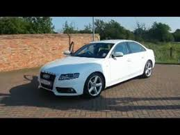 2009 audi a4 sline 2009 audi a4 s line 2 0tdi saloon white for sale in hshire