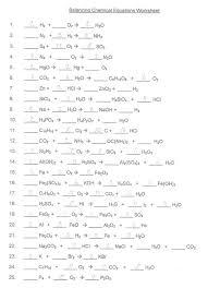 balancing equations worksheet 2 answers delibertad