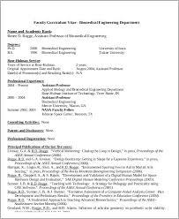 Sample Resume Of Assistant Professor by Biomedical Engineer Sample Resume Haadyaooverbayresort Com