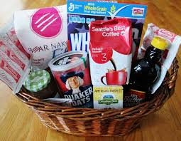 Seattle Gift Baskets The 25 Best Breakfast Gift Baskets Ideas On Pinterest Christmas