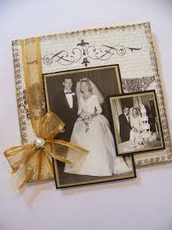 50th wedding anniversary photo album 76 best 50th anniversary scrapbook ideas images on