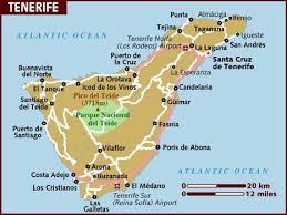 africa map islands map of tenerife