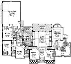 european style house plan 4 beds 3 50 baths 3510 sq ft plan 310 678