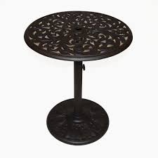 hanamint chateau 30 round pedestal counter table outdoor furniture