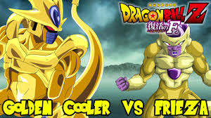 dragon ball cooler frieza cooler achieve golden