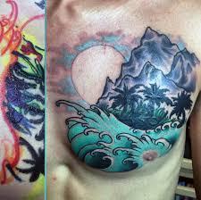 80 water tattoos for masculine liquid designs
