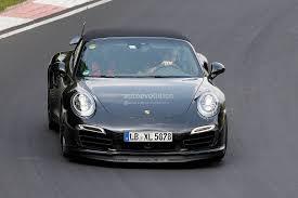 porsche cabriolet 2014 spyshots 2014 porsche 911 turbo s cabriolet testing gtspirit