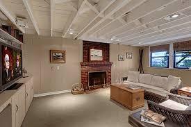 modern basement design modern basement ceiling new home design unusual ideas basement